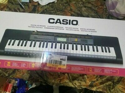 Brand New Casio CTK-2500 61-Key Digital Black Keyboard 400 Tones 100 Rhythms • 75.83£