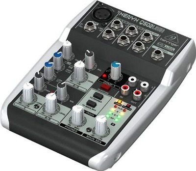 Premium 5 Input 2 Bus Mixer With XENYX Mic Preamp/Compressor/British EQ And • 47.63£