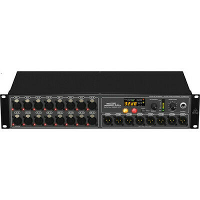 BEHRINGER S16 DIGITAL SNAKE I/O BOX WITH 16 REMOTE-CONTROL MIC PRE's • 454.51£