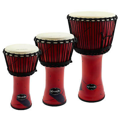 Djmebe Drum By World Rhythm -  Synthetic, Red, African Style • 39.95£