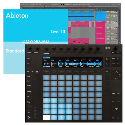 Ableton Push 2 USB MIDI DAW Controller + Live 10 Standard (Download) Software • 787£