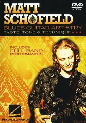 Matt Schofield: Blues Guitar Mastery [DVD] [NTSC] - DVD  TEVG The Cheap Fast • 20.98£