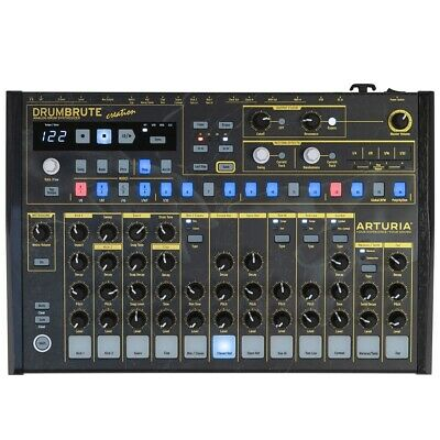 Arturia DrumBrute Creation Special Graphics Edition Black Side Panels • 319.44£
