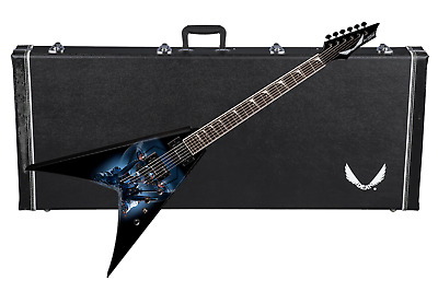 DEAN Dave Mustaine VMNT V Electric GUITAR Terminated Graphic NEW W/ CASE • 601.70£