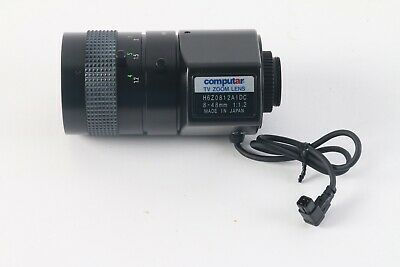Computar H6Z0812AIDC 8-48mm 1:1.2 TV Zoom Lens • 52.36£