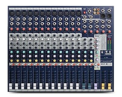 Soundcraft EFX12 12-Channel Mixer With Lexicon Effects • 265£
