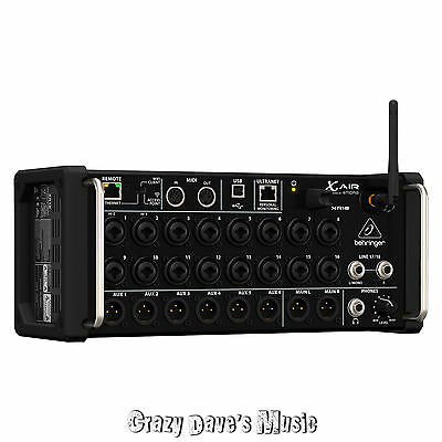 Behringer X Air XR18 18 Channel 12 Bus Digital Mixer For IPad/Andoid Tablets NEW • 546.29£
