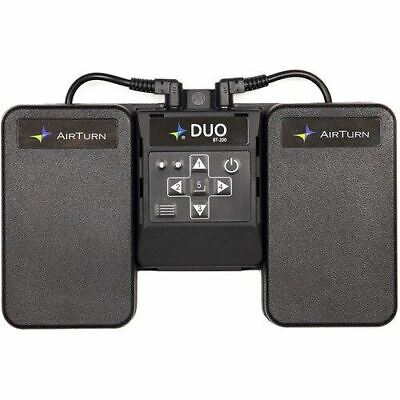 AirTurn DUO 200 2-Pedal Bluetooth Wireless Footswitch • 80.76£