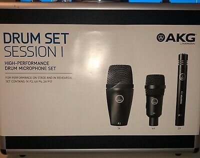 AKG Drum Set SESSION I Microphone For Drum 7 Pieces Set • 90£