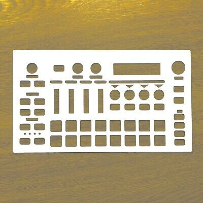 Blank White Overlay For Roland MC101 Groovebox • 7.99£