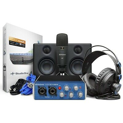 PreSonus AudioBox Studio Ultimate Bundle Complet Hardware/Software Recording Kit • 224.28£