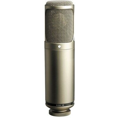 Rode K2 Seamlessly Variable Dual 1' Condenser Valve Microphone Tube NEW • 552.56£