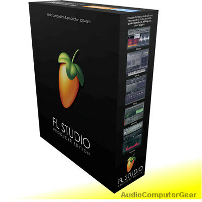 Image Line FL STUDIO 20 PRODUCER EDITION Software DAW Latest Full Version NEW • 157.31£