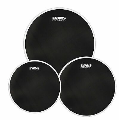 Evans SoundOff Fusion Mesh Tom Drum Head Set 10/12 And 14  • 51.29£