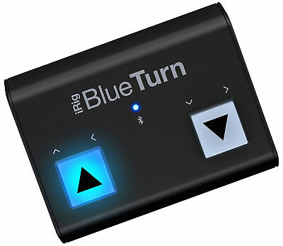 IK Multimedia IRig BlueTurn Bluetooth Page Turner For IOS And Android • 75.87£