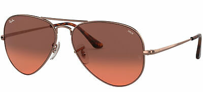 Ray-Ban RB 3689 EVOLVE LENSES ROSE GOLD/BURGUNDY 58/14/140 Unisex Sunglasses • 138£