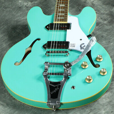 Epiphone Limited Edition Casino With Bigsby Turquoise Webshop • 843.71£