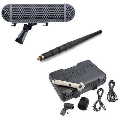 Rode NT4 Stereo Microphone With Rode Boompole And Rode Blimp NEW • 781.01£