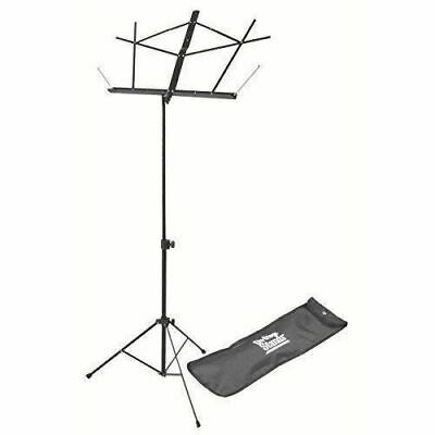 On Stage SM7122BB Folding Music Stand With Carrying Bag, Black • 7.58£