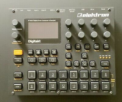 Elektron Digitakt Drum Machine And Sampler - Immaculate Condition • 96.43£