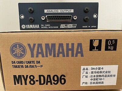 Yamaha MY8–DA96 Eight Channel Output Card For Yamaha Digital Mixers • 158.54£