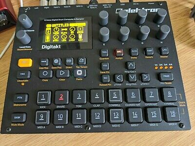 Elektron Digitakt - Drum Computer And Sampler • 595£