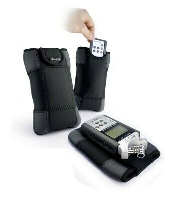 Neoprene Sleeve Case Cover & Remote Pouch For Zoom H4N H6 / H5 / H2N / H1N • 16.49£