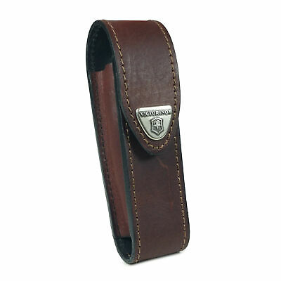 Victorinox Leather Pouch Belt Loop For Swiss Army Tool (2-4 Levels) -Brown • 21.49£