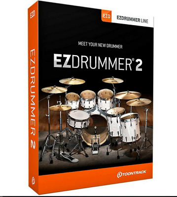 🔥 EZDRUMMER 2 (2020) + ALL 44 EXPANSION PACKS - TOONTRACK (Windows) 🔥🔥 • 9.50£