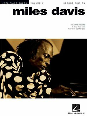 Jazz Piano Solo Volume 1: Miles Davis (Jazz Piano Solos (Numbered)) Book The • 12.99£