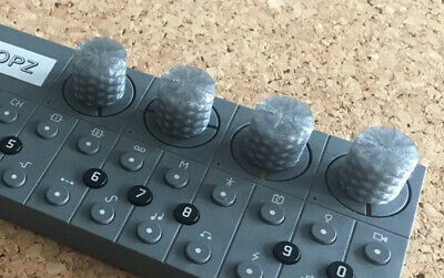 Teenage Engineering OP–Z Sequencer Control Knobs Crystal Grey X4 • 6.50£