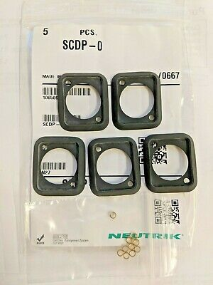 Neutrik SCDP-0 **Bag of 5** Black Rubber Sealing Gasket for D-Type chassis