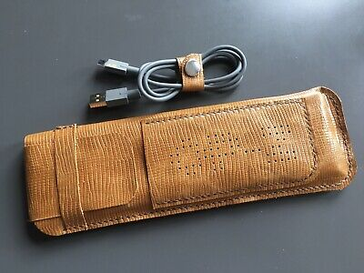 Hand Made Textured Leather Case For Teenage Engineering OP–Z Sequencer - Tobacco • 35£