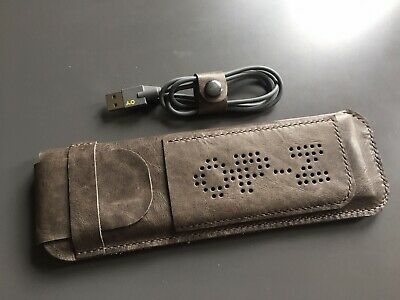 Hand Made Leather Case For Teenage Engineering OP–Z Sequencer - Dark Brown • 35£