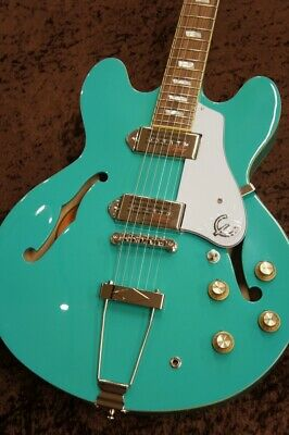 Mint Epiphone Limited Color Casino Turquoise • 806.82£