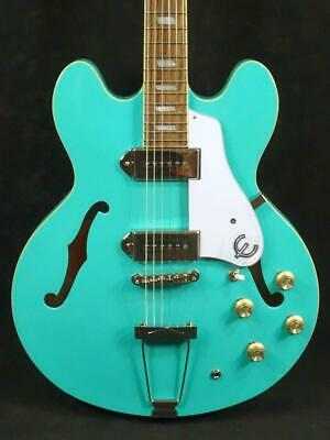 Epiphone Casino Turquoise Actual Machine Photo Posted • 899.80£