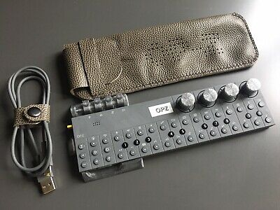 Hand Made Leather Case For Teenage Engineering OP–Z Sequencer - Pebble Brown • 30£