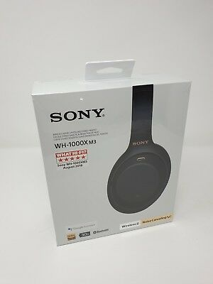 Sony WH-1000XM3 Wireless Noise Cancelling Headphones • 390£
