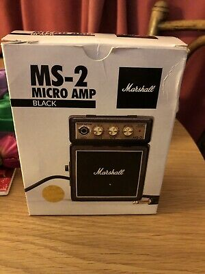 Marshall MS-2 Micro Amplifier - Black • 17.99£