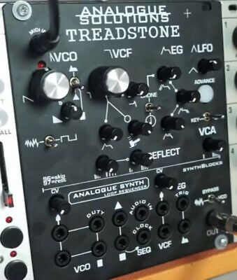 Treadstone Eurorack Mini Synth With Sequencer By Analogue Solutions • 375£