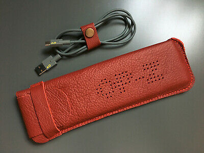 Hand Made Leather Case For Teenage Engineering OP–Z Sequencer - Red • 35£