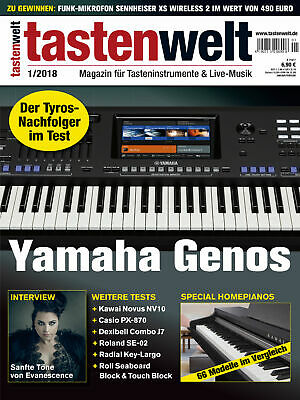 Yamaha Genos IN Test - Homepianos Special 66 Models IN Comparison - Tastenwelt • 6.95£