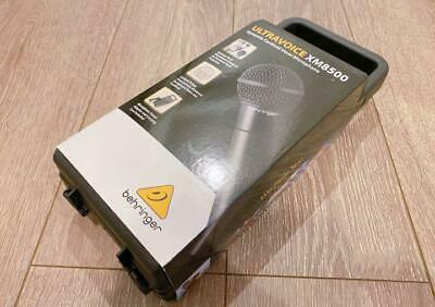 BEHRINGER Ultravoice XM8500 Dynamic Vocal Microphone Cardioid Black • 54.44£