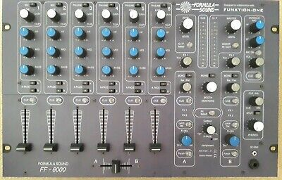 Formula Sound FF6000 Mixer. In Good Condition. Recently Serviced. • 1,200£