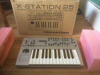 Novation X-Station 25 Midi Keyboard & Audio Interface,  Lightly Used And Babied! • 270.05£