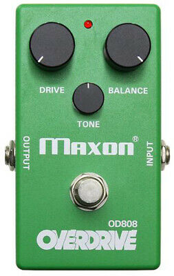 MAXON 40th ANNIVERSARY PIGTRONIX MODIFIED OVERDRIVE OD808-40P, NEW • 161.54£