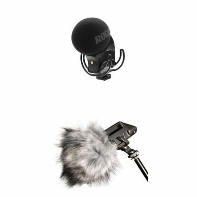 Rode Stereo VideoMic Pro (With Rycote Lyre) Dead Kitten • 151£
