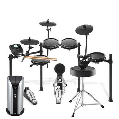Alesis Nitro Mesh Kit Electronic Drums With Sticks, Stool, Monitor & Headphones • 569£