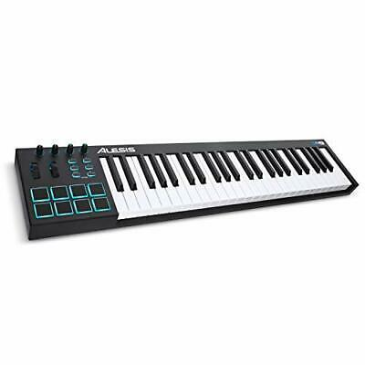 Alesis V49 - 49 Full Sized Key USB MIDI Keyboard Controller With 8 Backlit Pads • 122.99£