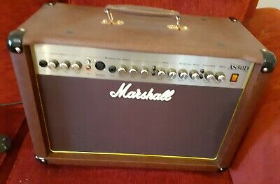 Marshall AS50d Acoustic Amplifier Excellent Order (Collection Only) • 155£